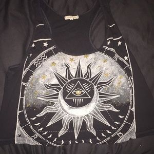 Urban Outfitters Sun & Moon Crop Top
